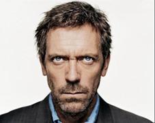 Foto de l'actor Hugh Laurie