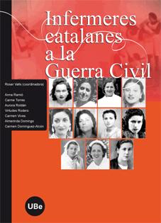 Coberta del llibre Infermeres Catalanes a la Guerra Civil Espanyola