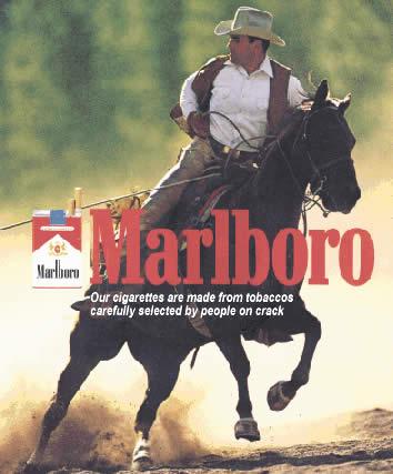 Legendari, i desaparegut, anunci amb el cowboy de Marlboro