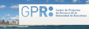 Gestor de Projectes de Recerca (GPR) de la UB